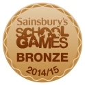 Sainsburys School Games bronze logo